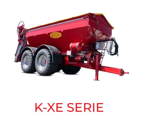 K-XE serie Bredal maskiner