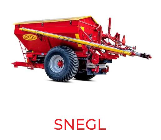 snegle Bredal maskiner