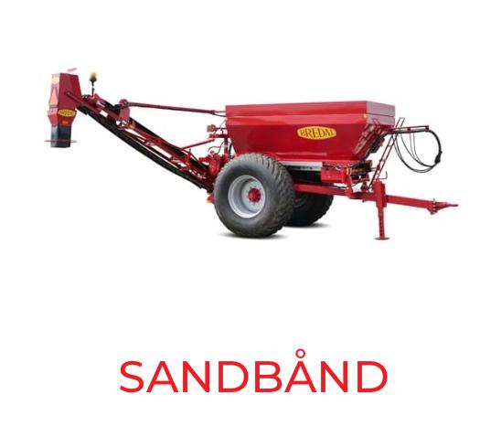 sandbånd Bredal maskiner