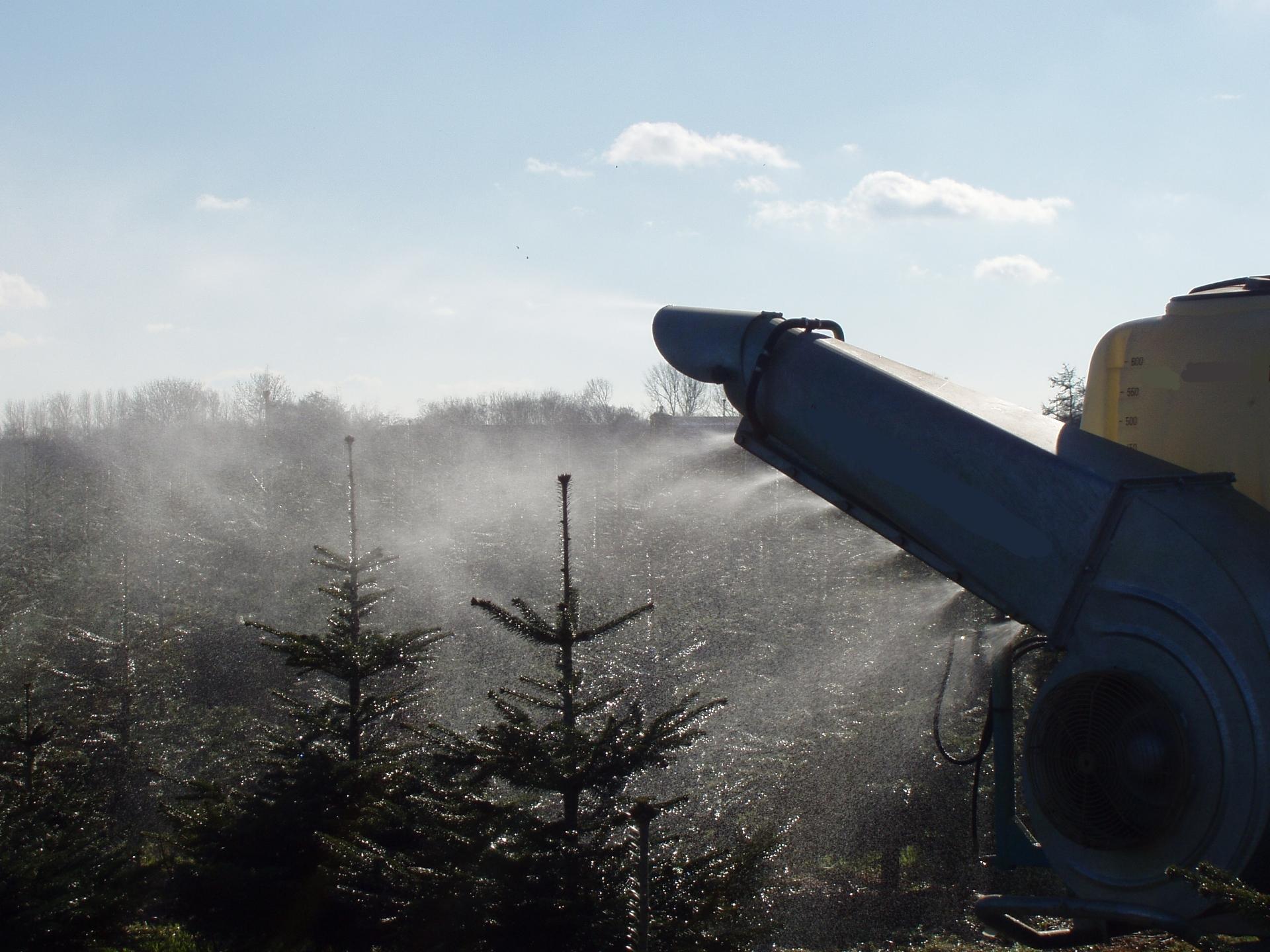 Traditionelle tågesprøjter